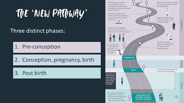 The 'New Pathway to parenthood'