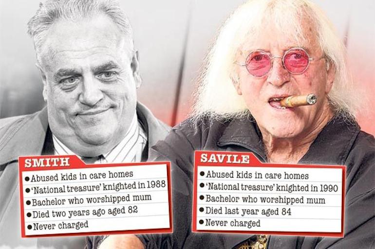 Cyril Smith & Jimmy Savile